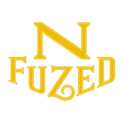 NFuzed logo in yellow