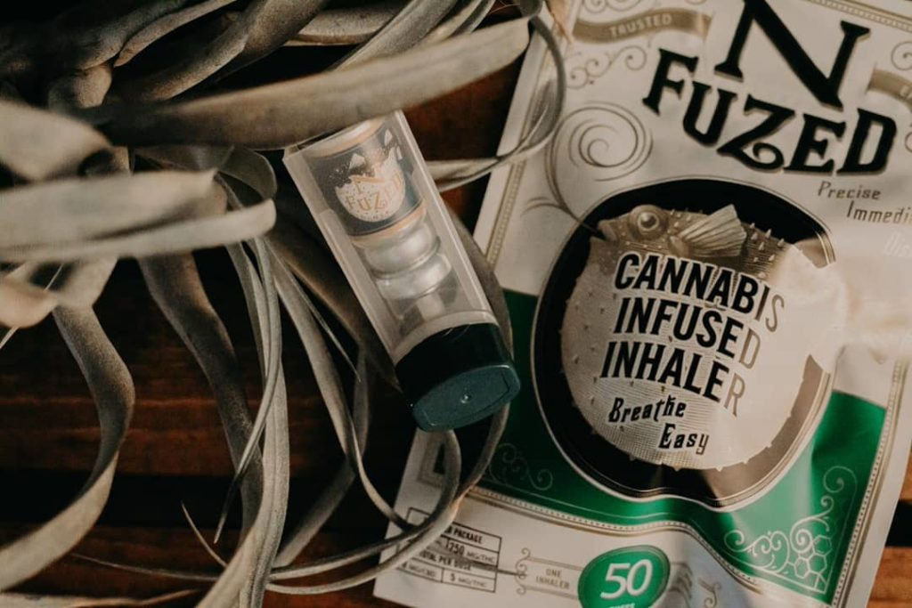 cannabis infused inhalers from N-Fuzed