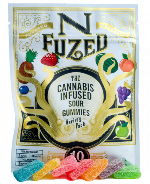 MENU THC Gummies Product Photo